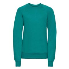 CROSSROADS PRIMARY SCHOOL WINTER EMERALD  SWEATSHIRT WITH LOGO